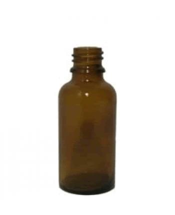 Sticla bruna de sticla 30 ml, fara capac