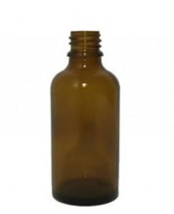 Sticla bruna de sticla 50 ml, fara capac