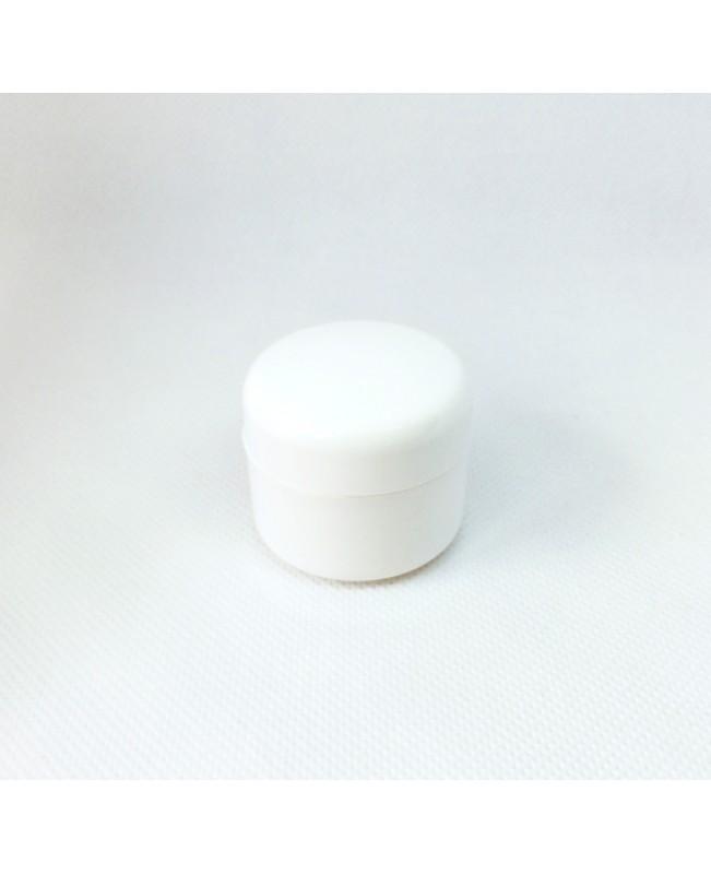 Doza cosmetica perete dublu 5 ml alba/neagra