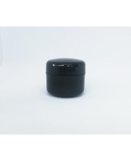 Doza cosmetica 20 ml negru/alb