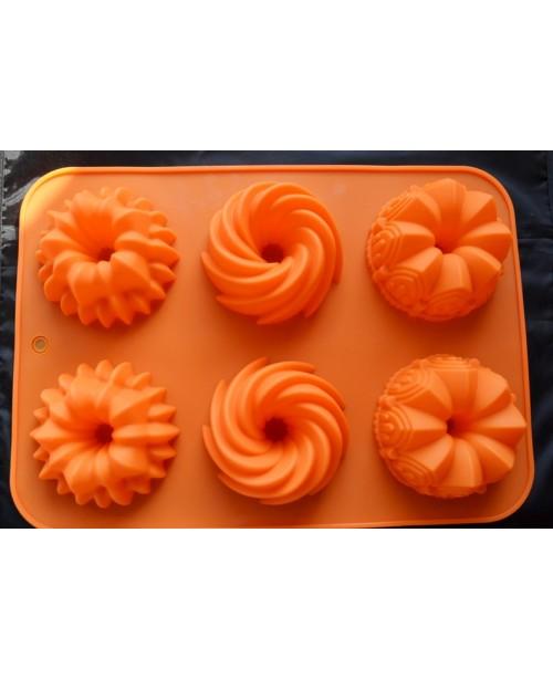 Forma mini tort 6 cavitati
