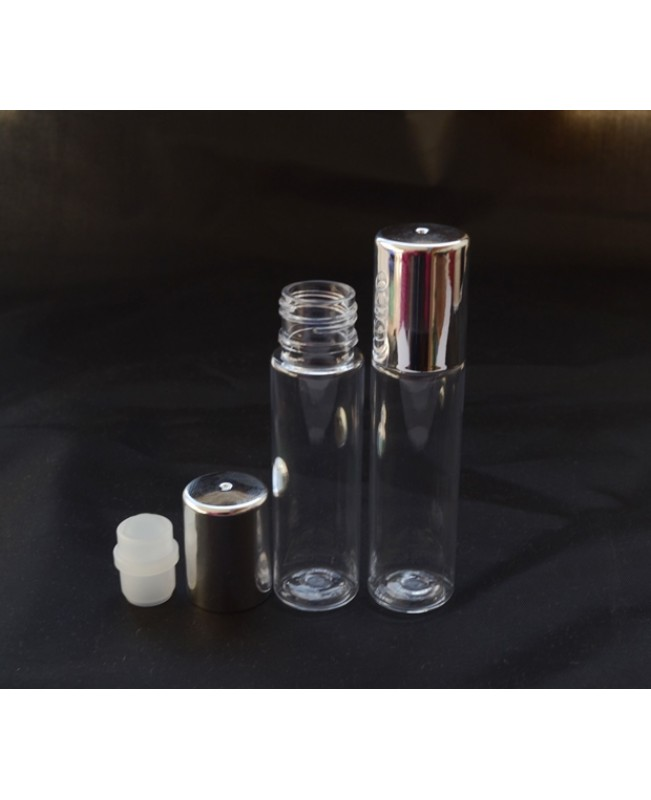 Recipient roll-on tub 10 ml plastic
