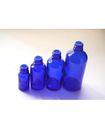 Sticla albastra de sticla 50 ml, fara capac