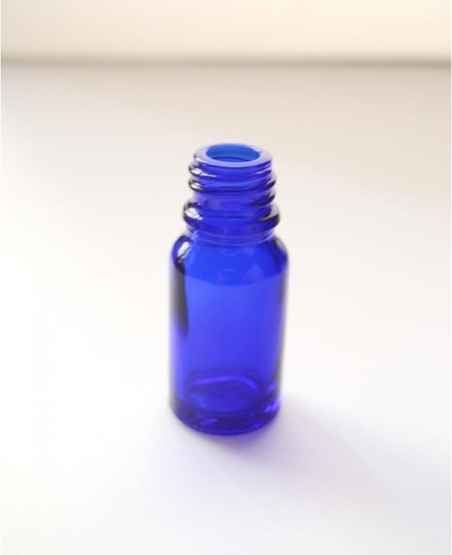 Sticla albastra de sticla 20 ml, fara capac