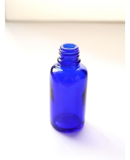 Sticla albastra de sticla 30 ml, fara capac