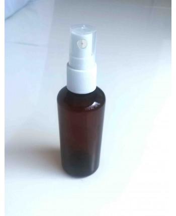 Flacon 100 ml brun cu pulverizator inclus
