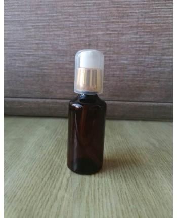 Flacon 30ml/50 ml cu pompita aurie