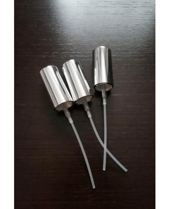 Pulverizator argintiu cu capac inalt GL18