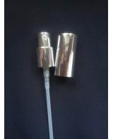 Pompita argintie pentru lotiuni lejere cu capac in...