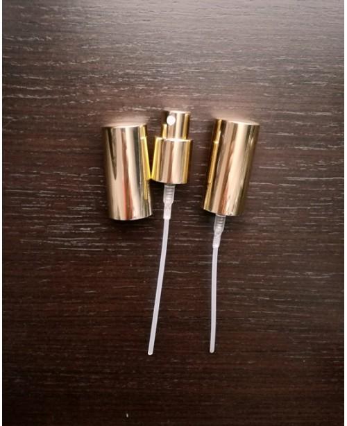 Pulverizator auriu cu capac inalt GL18