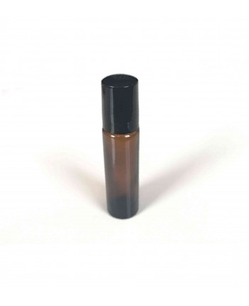 Recipient sticla bruna tub roll-on 10 ml