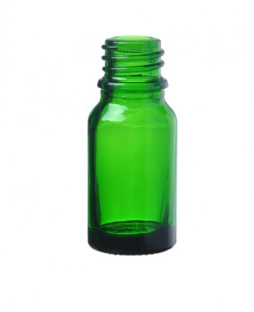 Sticla verde de sticla 10 ml, fara capac