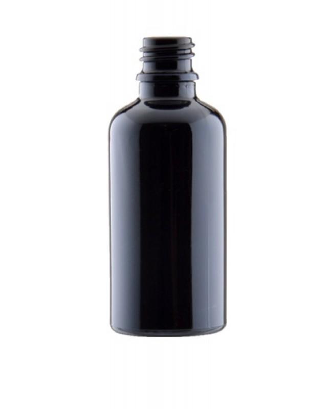 Sticla neagra de sticla 30 ml, aspect porțelan, f...