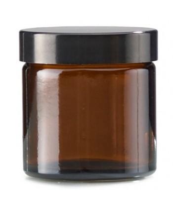 Borcan sticla bruna 60 ml