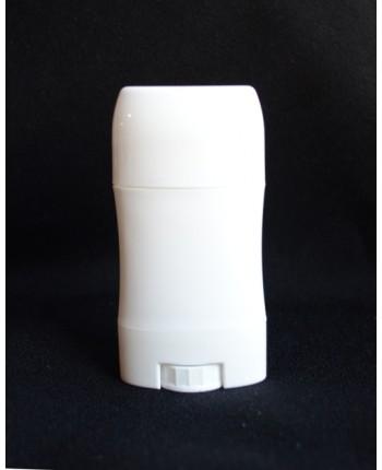Recipient pentru deodorant/baton stick ALB LUCIOS ...