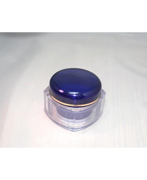 Cutie cosmetica perete dublu 50 ml albastru cobalt
