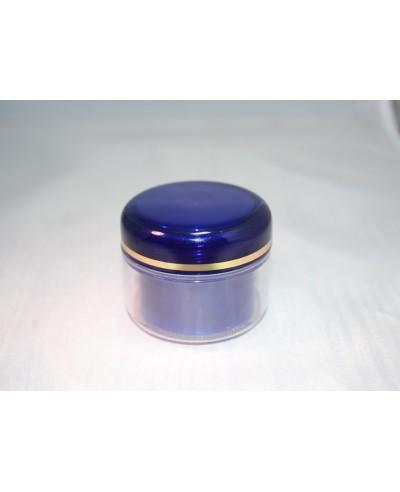 Cutie cosmetica perete dublu 30 ml albastru cobalt