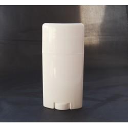 Recipient pentru deodorant/ baton stick alb lucios 75 ml