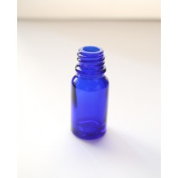 Sticla albastra de sticla 10 ml, fara capac